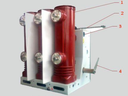 Vacuum circuit breaker design