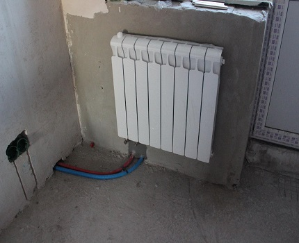 Collector heating