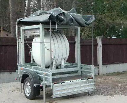 Réservoir d'essence mobile