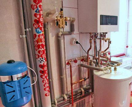 Chaudière à gaz liquéfié à circuit unique