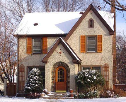 Chauffage de la maison en hiver