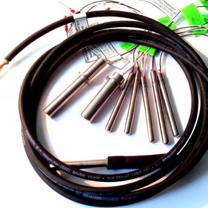 Capteurs de température à quartz