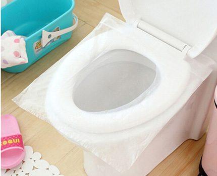 Disposable toilet seats