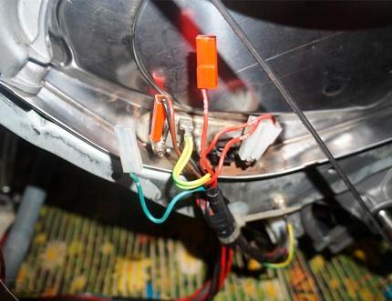 Washing machine sensors