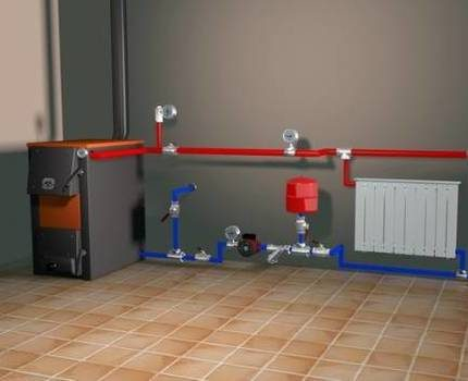Do-it-yourself heating of a private house
