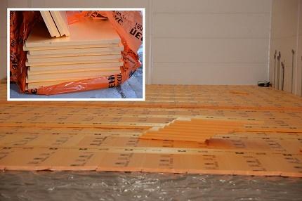 Polystyrene foam boards