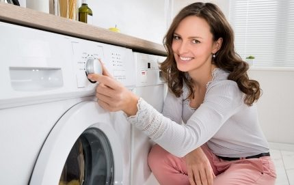 Prevention of breakdowns in washing machines