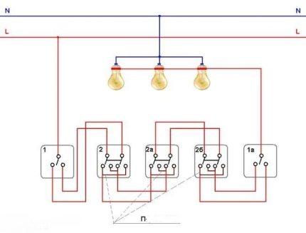 Circuit à double clé