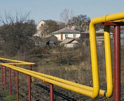 Ground gas pipeline