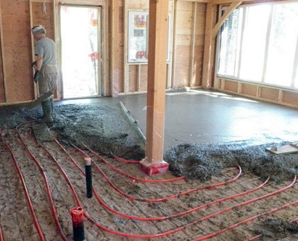 Cement and sand screed