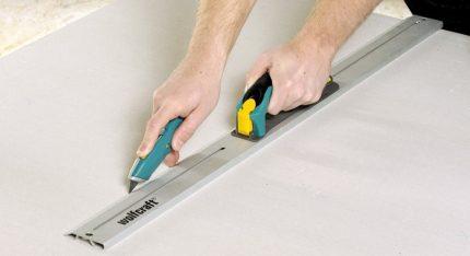 Drywall griešana
