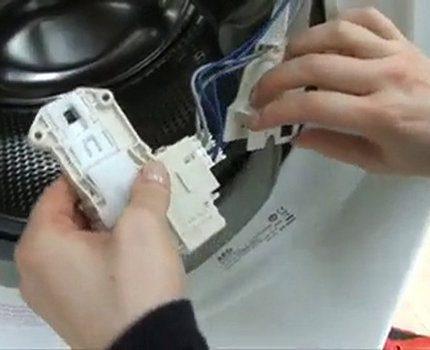 Repair a control module