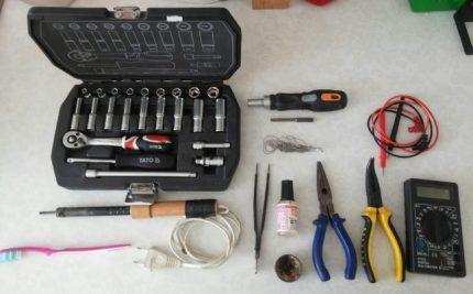 Washing machine repair tools
