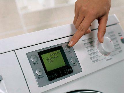 Washing machine automation