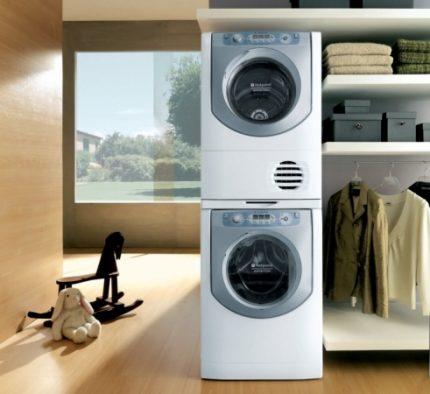 Washing technology Ariston