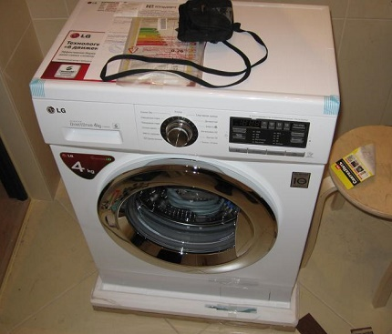 Benefits of LG washing machine instructions