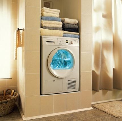 Drift av en tvättmaskin