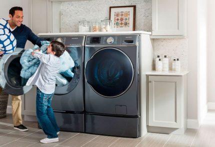 Tvättfunktioner