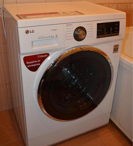 Washing machine brand LG