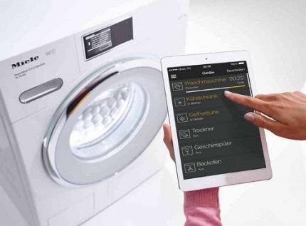 Machines à laver contrôlées Wi-Fi