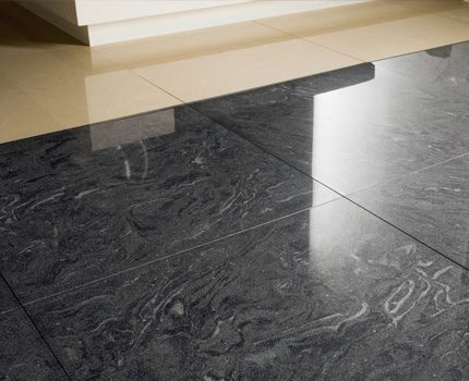 Wet screed option is good for tiles