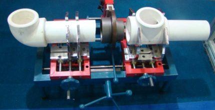 Soudage de tuyaux en polypropylène