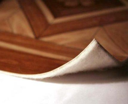 Linoleum preparation