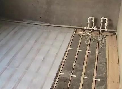 Flooring water floor