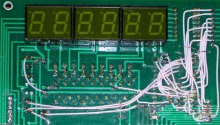 Thermomètre avec thermistances