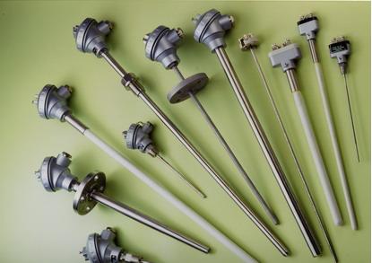 Thermocouples de divers métaux