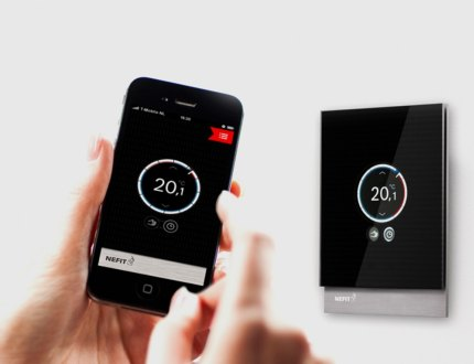 Thermostat remote control system