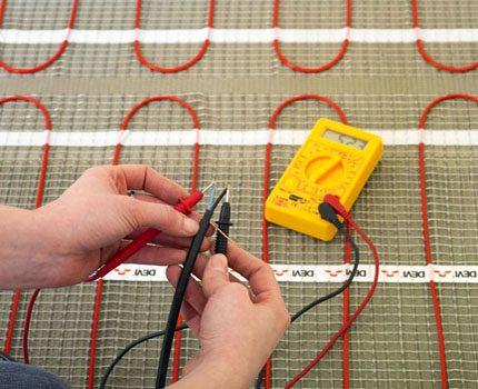 Elektriskās sistēmas darbspējas pārbaude