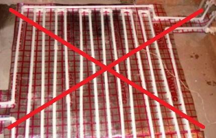 Polypropylene pipe circuit