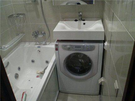 Small-sized washing machine