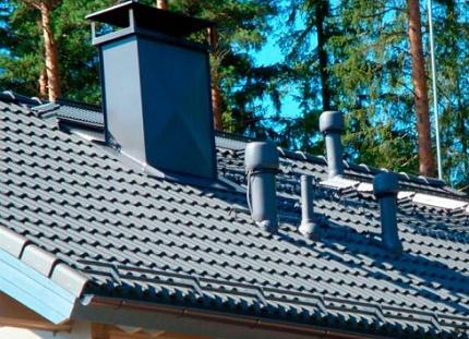 Hauteur d'installation du tuyau de ventilation