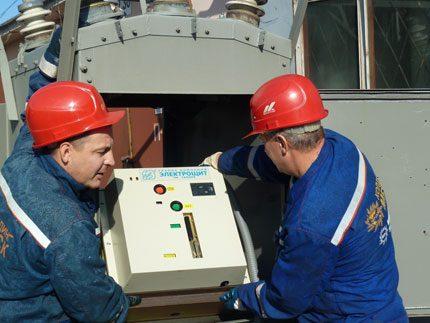 Putting the vacuum circuit breaker into operation
