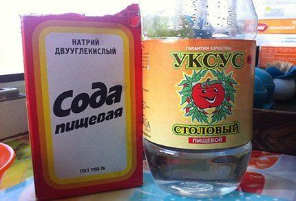 Soda un etiķis ledusskapja mazgāšanai