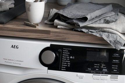 Machines à laver AEG
