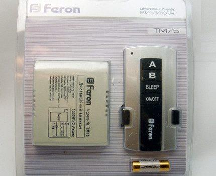Wireless Feron TM-75 switch