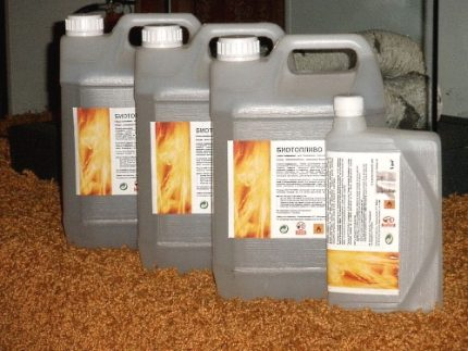 Biofuel in cans