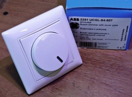 Simple dimmer for incandescent lamps
