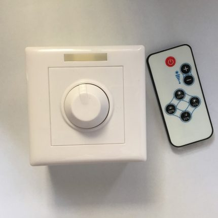 Remote control dimmer