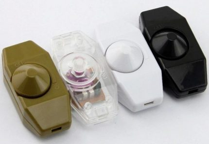 Different color dimmers