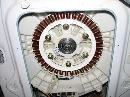 Washing machine inverter