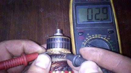 Multimeter check