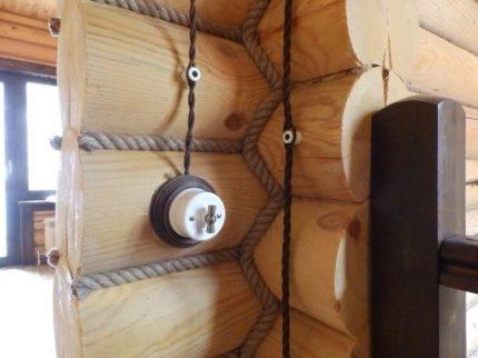 Câblage rétro extérieur