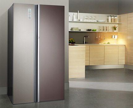 Two-door refrigerator Don