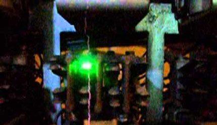 Arc sur les contacts de relais