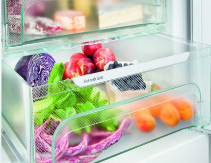 Svaiguma zona Liebherr ledusskapī
