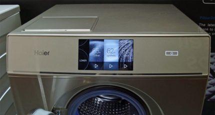 Réalisations dans la gestion de la machine à laver Haier